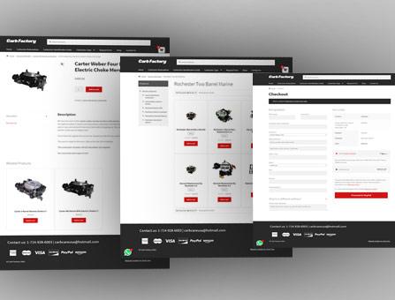 Desarrollo de tienda en linea
