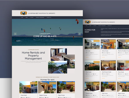 Diseño web La Paz Style One Design