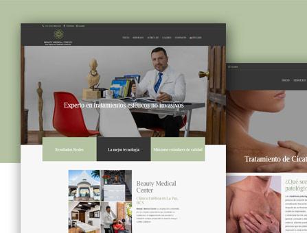 Diseñode página web para clinicas