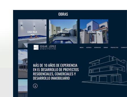 Diseño web Arquitecto, La Paz, BCS, México